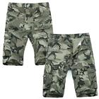 New Casual Cotton Camo Army Style Overall Men Shorts Sports Pants Trousers K0E1