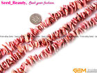 Jewelry making 14-15mm freeform Natural sea shell MOP beads strand 15""
