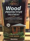 BARRETTINE EXTERIOR WOOD PROTECTIVE TREATMENT 5 LITRE CHOICE OF COLOUR
