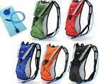 2L HYDRATION PACK WATER RUCKSACK/BACKPACK BLADDER BAG CYCLING HIKING CAMPING