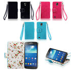 IZENGATE Wallet PU Leather Flip Case Cover for Samsung Galaxy S4 Active I9295