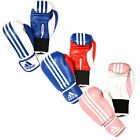 NEW ADIDAS RESPONSE TRAINING PU NUBUCK VELCRO BOXING GLOVES MULTI COLORS