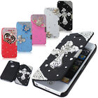 New Pretty Bling Pouch Flip Leather Hard Skin Case Cover For iPhone 5S 5G Flower