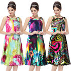 Ever Pretty Hot Ladies Short Printed Cocktail Daily Casual Party Dresses 03328