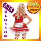 I37 Santa Claus Christmas Helper Fancy Dress Up Costume Xmas Party Outfit & Hat
