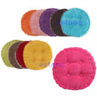 New Home office Soft Corduroy Roundness Cotton Seat Cushion Chair Pads 40X40CM