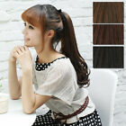 Synthetic New Clip in Ponytail Hair Extension Hair Piece Pony human love  NoLPDD