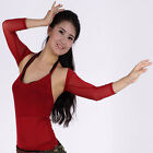 END OF YEAR ON SALE belly dance choli top body cover mesh halter top OR sleeves