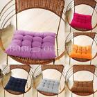 40 X 40cm Handmade Square Soft Dining Chair Seat Pad Filled Ties Cushion Decor