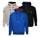 MENS GARY SMITH GSRD RAW FULL ZIP HOODY WITH BUTTON PANEL DETAIL BNWT