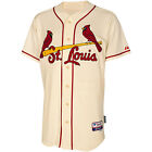Athletic St. Louis Cardinals Blank Authentic Alternate Cool Base Ivory Jersey