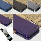Ultra-thin 0.5mm Transparent Matte shell Cover CASE FOR Apple iPhone 5 5S