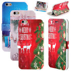 For 5.5'' iPhone 6 Plus Luxury Happy New Year Pattern PU+TPU Case Best Gift