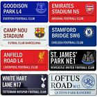 OFFICIAL FOOTBALL CLUB STREET ROAD SIGNS - MANCHESTER, CHELSEA, ARSENAL & MORE