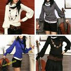 New Stylish Women's Bottoming Shirt Turtle Neck Long Sleeve Knitting Sweaters