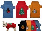 Knitted dog puppy CHRISTMAS costume coat jacket jumper  Small, Medium, Large