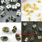 Wholesale 150pcs Earplug Ear Nut Earring Back Stopper 6x4mm Gold/Silver/Bronze