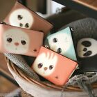 Finger Pet Animal Pouch Card Coin Zipper Pocket Case Holder Wallet Cute Kawaii