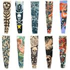 1*Slip On Fashion Nylon Stretchy Temporary Tattoo Sleeves Arm Stockings CSUG