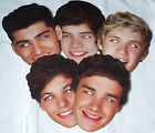 One Direction Celebrity Face Masks - Great for Parties - 1st Class Post