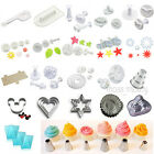 0.99 Sale!! Cake Decorating Fondant Plunger Cutter Moulds Sugarcraft Arts Tools