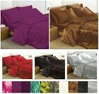 Satin Bedding Sets - 6 Piece Set - Duvet Cover + Fitted Sheet + Pillowcases