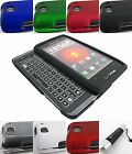FOR MOTOROLA DROID 4 XT894 HARD TWO PART SNAP-ON CASE COVER ACCESSORY+STYLUS/PEN