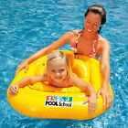 Baby Toddler Inflatable Swim Float Seat Support Aid Ring Pool 0-1 Yrs/ 1-2 Years