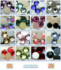 Swarovski Gluefix Rhinestone 2028 & 2058 SS20 Flat Back Foiled *Many Colours*