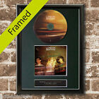 LONDON GRAMMAR If you wait  FRAMED Signed CD COVER MOUNTED A4 Autograph Repro 58
