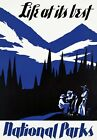 TR32 Vintage Life At Its Best American National Parks Travel Poster A1/A2/A3/A4