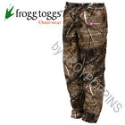FROGG TOGGS RAIN GEAR-PA83502-54 PRO ACTION PANTS WOMENS APXTRA CAMO WET HUNTING
