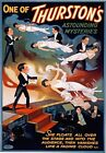 M59 Vintage Thurston Mystery Magic Theatre Poster Re-Print A1/A2/A3/A4
