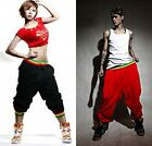 Mens Womens Casual Hip-hop Harem Baggy Dance Sport Sweat Pants Trousers Slacks