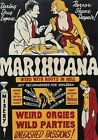 AD48 Vintage 1930's Marihuana Marijuana Anti Drugs Movie Poster Re-Print A3/A4