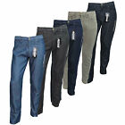 Men Slim Straight Fit Lightweight Denim Trousers Jeans Waist Size 28 30 32 34 36
