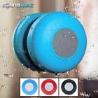 SoundLogic Bluetooth Water Splash Proof Shower Speaker &  Wireless Speakerphone