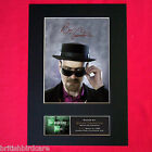 BRYAN CRANSTON Breaking Bad Signed Autograph Mounted Photo Repro PRINT A4 431