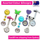 Assorted Nurse Watches Chrome Pendant Pocket Watch for Pouch with Spare Battery image