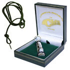 ACME SOLID STERLING SILVER DOG TRAINING WHISTLE 211.5 GUN DOG TRAINING HUNTING