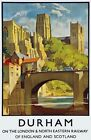 TX279 Vintage Durham England LNER Railway Travel Poster Re-Print A2/A3/A4