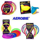 AEROBIE PRO RING, SUPERDISC, SQUIDGIE DISC, SPRINT RING, ROCKETBALL FLYING TOYS