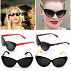New Womens Cat Eye Glasses Eyeglasses Vintage Designer Retro Sunglasses Shades #