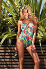 GOSSARD EGOBOOST Control SWIMSUIT with Push Up Padding in Tropical Print