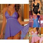 XXL 3XL 4XL 5XL Sexy Babydoll Lingerie Dress Chemise Plus Size 12 14 16 18 20 22