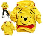 Boys Toddlers Girls Winnie the Pooh Cotton Kids Hoodies Unisex Clothes 2-8Years