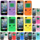 For iPhone 5 5s SE Gameboy Silicone Case Cover