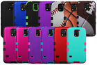 TUFF Hard Hybrid Snap On Armor 2 Dual Layer Case Cover for Samsung Galaxy S5 V