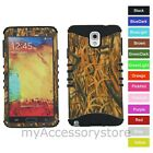 For Samsung Galaxy Note 3 Dry Grass Camo RKR Hard&Rubber Rugged Phone Case Cover