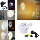 LED Analogique Projection Horloge Murale Cold Light Beam Pour Maison Cadeau